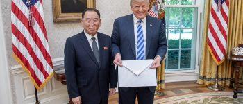 حاشیهای جالب در دیدار ترامپ با نماینده کرهشمالی!